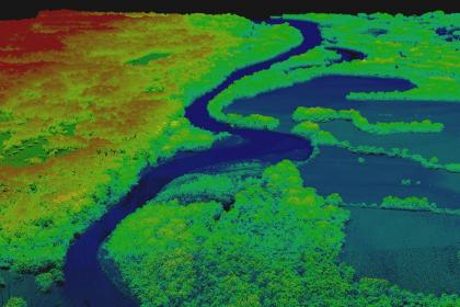 Lidar structural data: Lidar data collected over the Seneca Nation of Indians in upstate New York. These data can be used to assess topography, riverbed obstructions, and map water depth, when coupled with a flood extent map