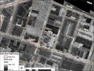 Real-time IR images of the Rochester East End Downtown Festival taken on the evening of 8 July 2011.